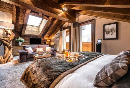 Alpin chalet style Cabins \/ Logs - interior and exterior - ideen schlafzimmer einrichtung stil chalet