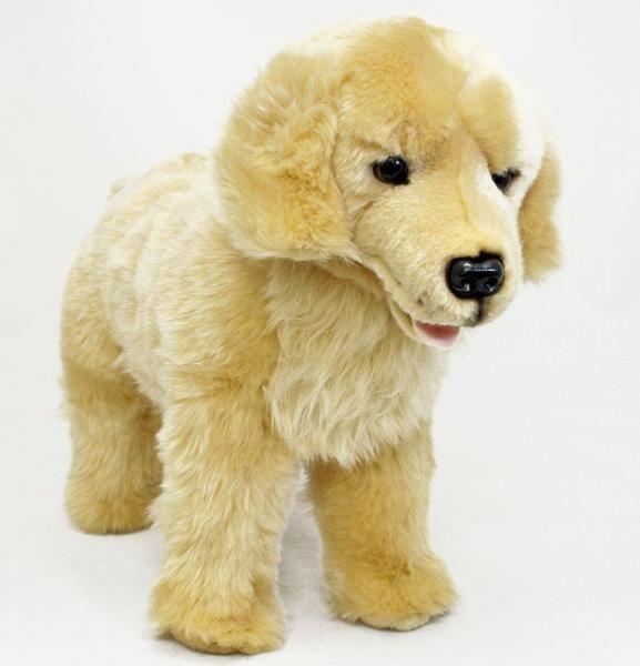 Golden Retriever Standing Plush Toy Jackson Bocchetta Plush