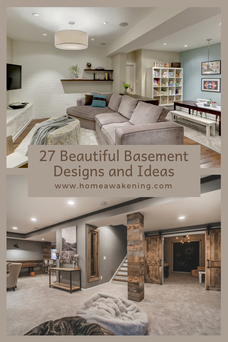 27 Perfectly Captivating Basement Design Ideas Home Awakening In 2020 Basement Design Basement Layout Basement Remodeling