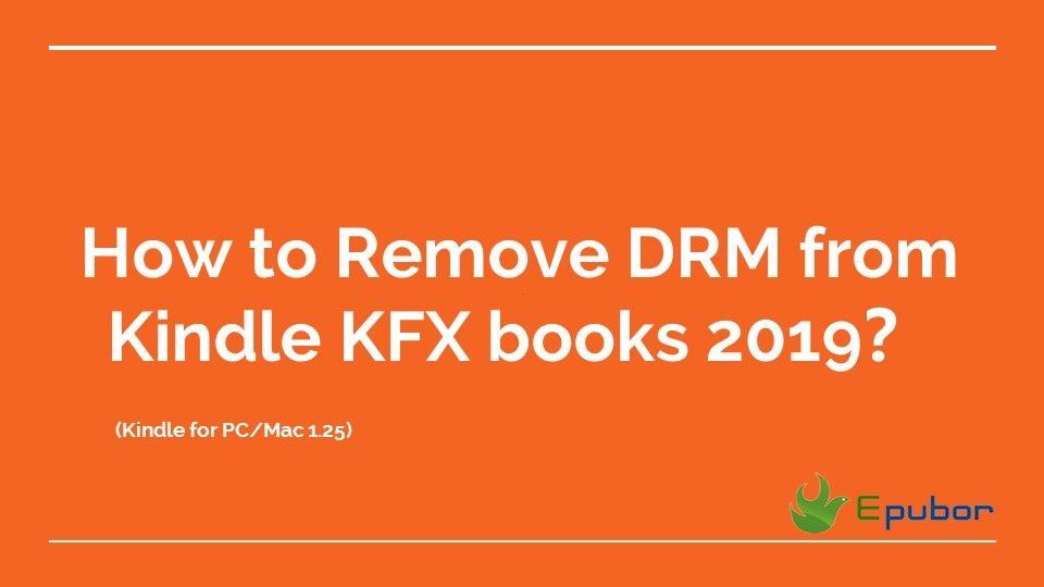Since December 2018, Amazon changed their KFX DRM Scheme, which made