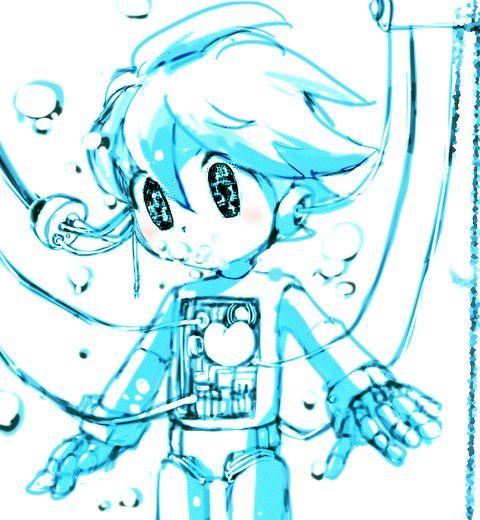 ロックマンx 漫画 pixiv