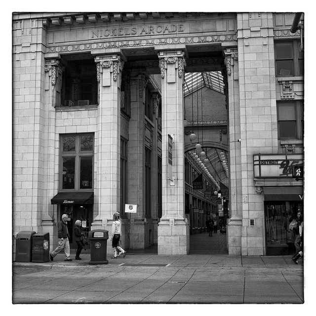 Nickels Arcade - Ann Arbor, MI, via Flickr.