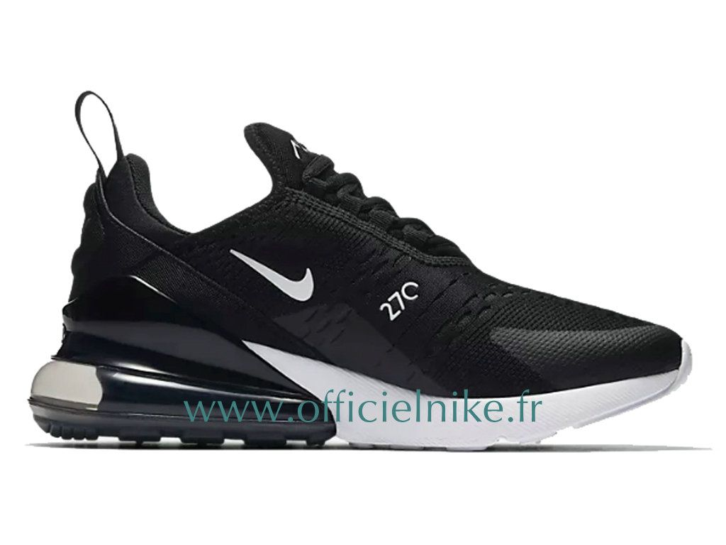 outlet store a0905 b92af Homme Chaussure Officiel Nike Air Max 270 Noir Blanc AH8050-002