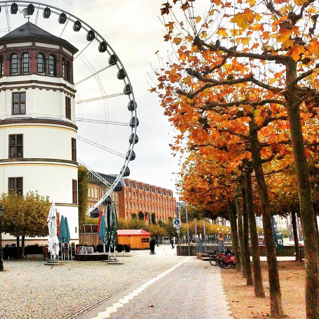 "Life in Düsseldorf on Instagram: ""Whose ready for the #christmasmarkets to start rolling out!? 🌲  #deinNRW #christmasmarket #dusseldorf #lifeindusseldorf #autumn"""
