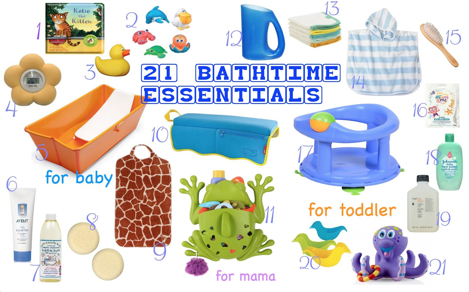 Baby Bathroom Essentials - Bathroom Design Ideas