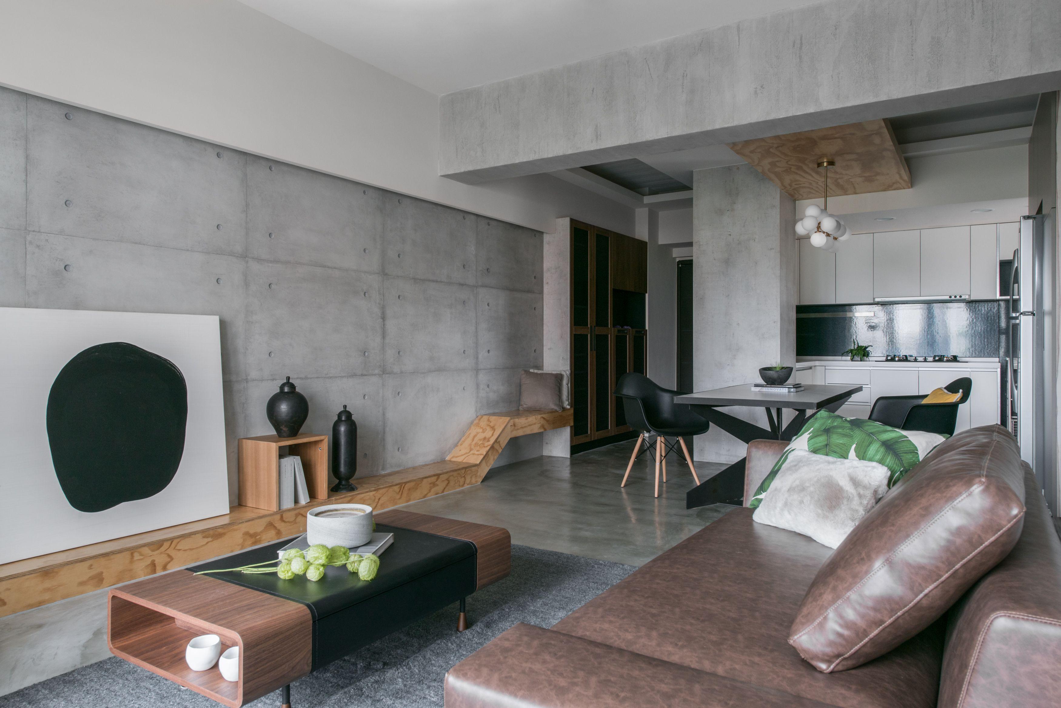 Novacolor s Archi Concrete in Taichung Taiwan Designer Ms Chia