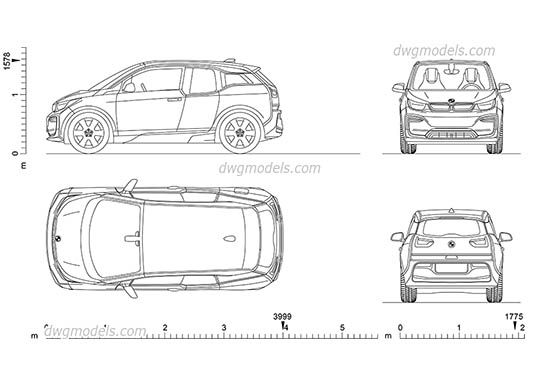 Volkswagen TRoc CAD Blocks free dwg file reference images