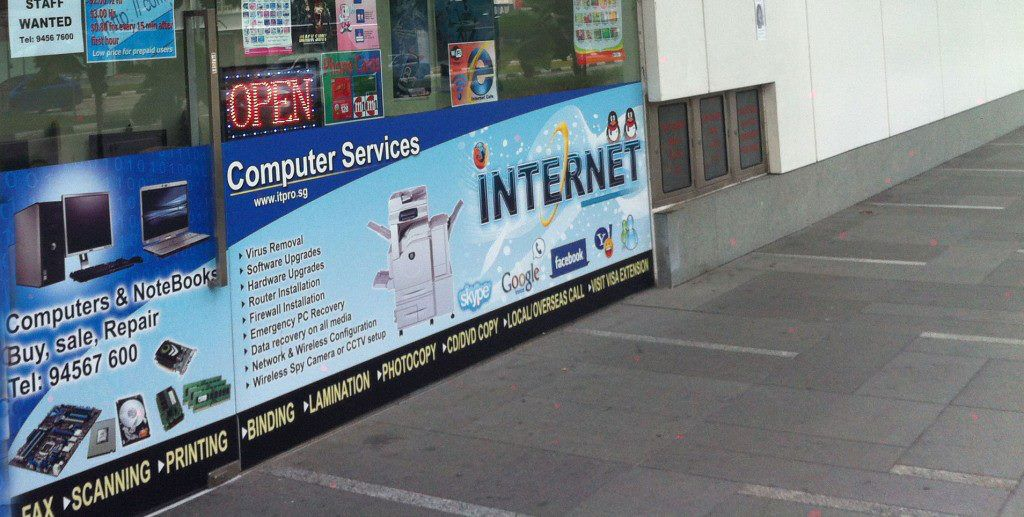 We Offer Internet Cafes Service With Free Wi Fi In Many Public