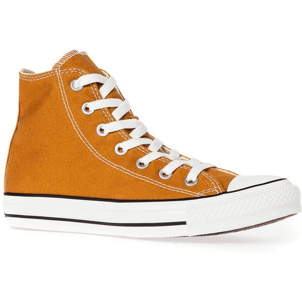 4a76fc43877f Converse The Chuck Taylor All Star Hi Sneaker in Venice Brown ( 28) ❤ liked  on Polyvore featuring shoes