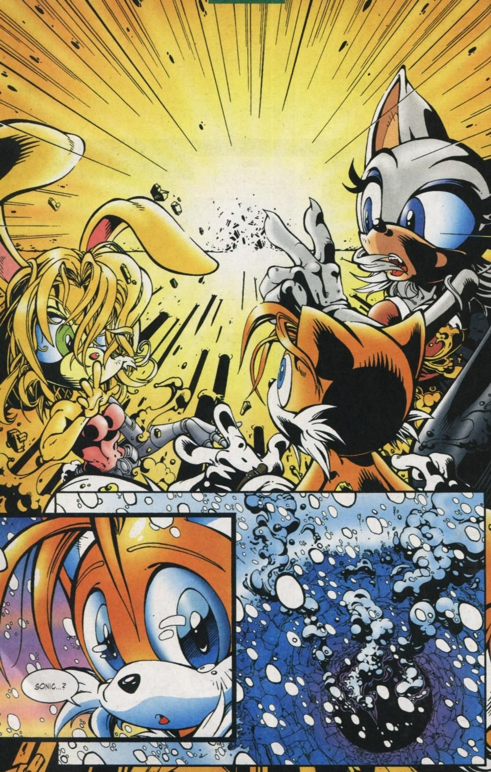 How Sonic The Hedgehog Died On Issue 125 3 Sonic The Hedgehog Sonic Hedgehog