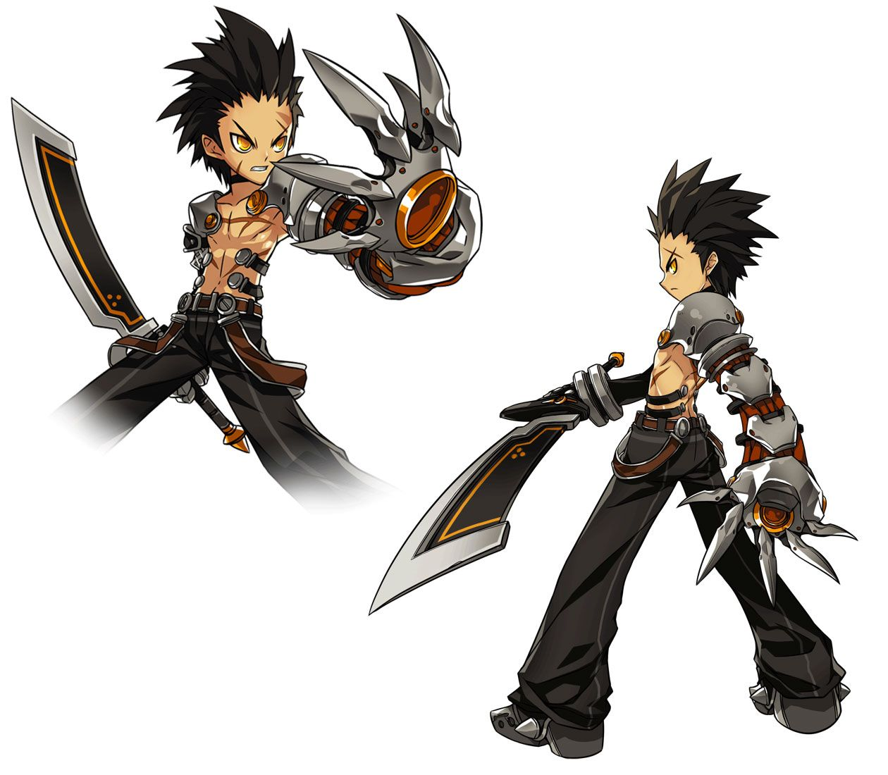 western shota 3d Technically not a shota as Elsword chibi-fies their characters.