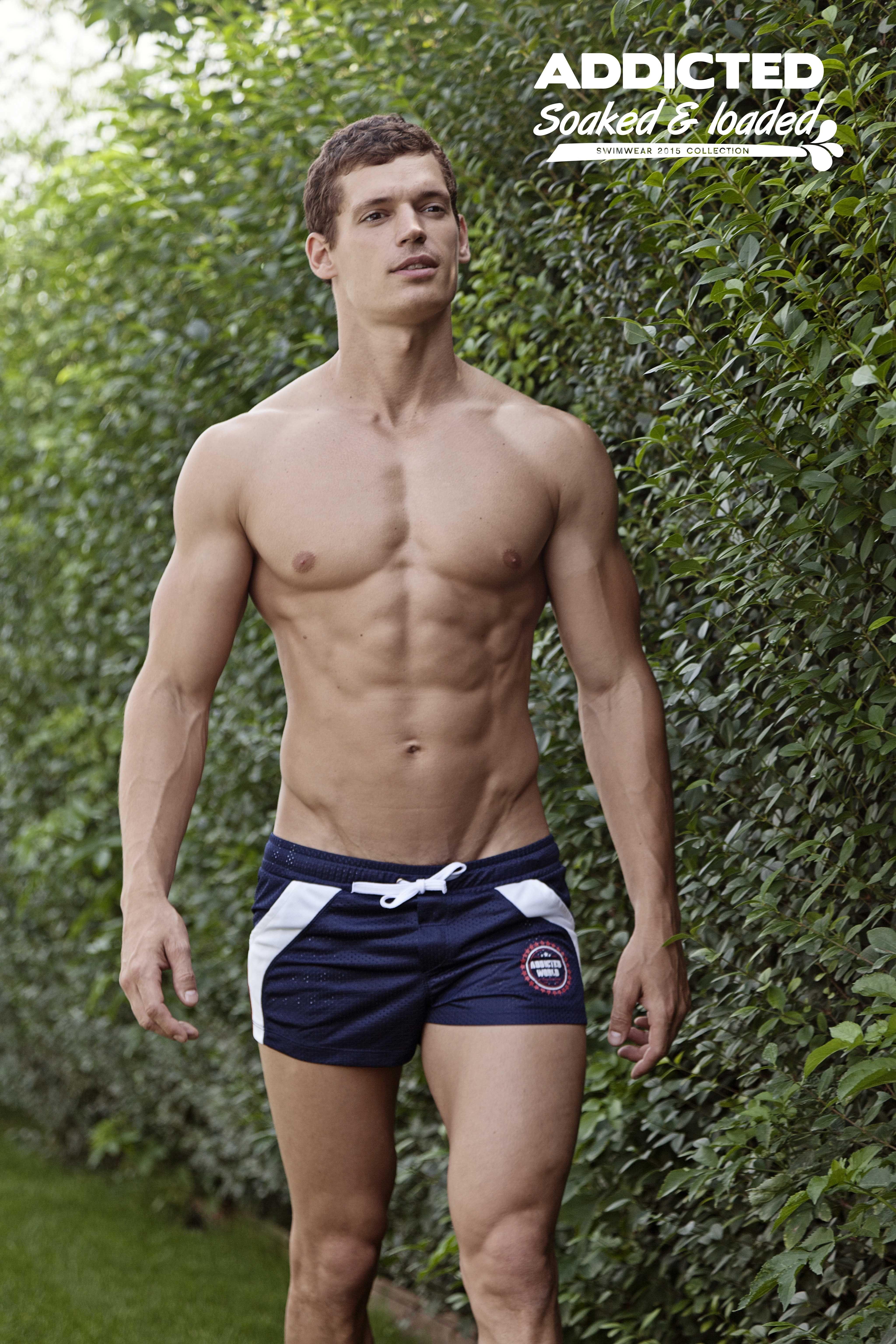 860d4d36edb Jean-Daniel in the ADDICTED World Swim Shorts. Hot! #hot   My Menzzz ...