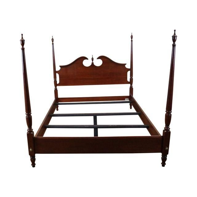 differently 234a6 ca637 Image of Ethan Allen Georgian Court Queen Size Poster Bed ...
