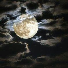 Realistic Moon Tattoo With Clouds Beautiful Moon Moon Pictures Good Night Moon