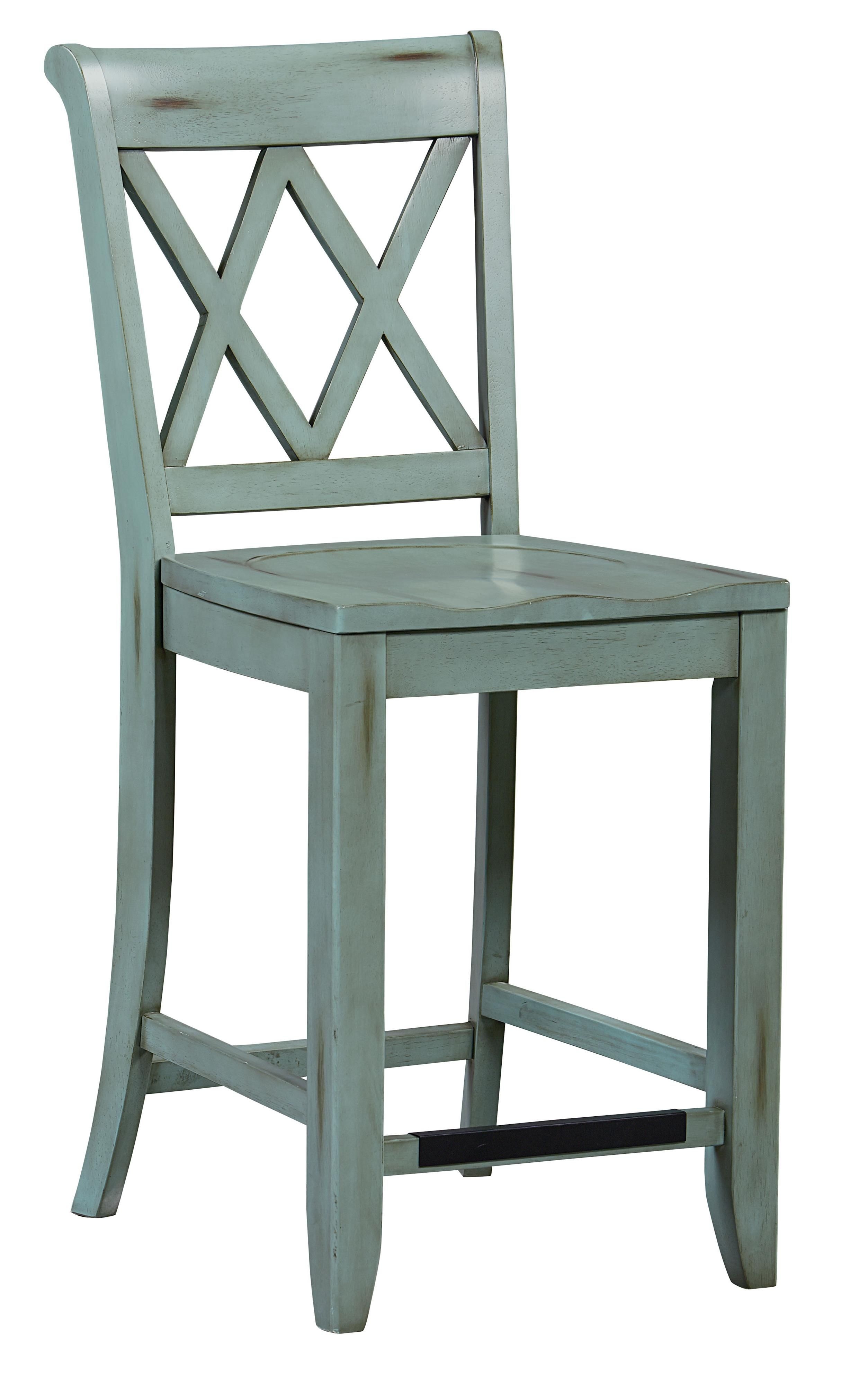 Vintage Counter Height Stool By Standard Furniture At Great American Home  Store