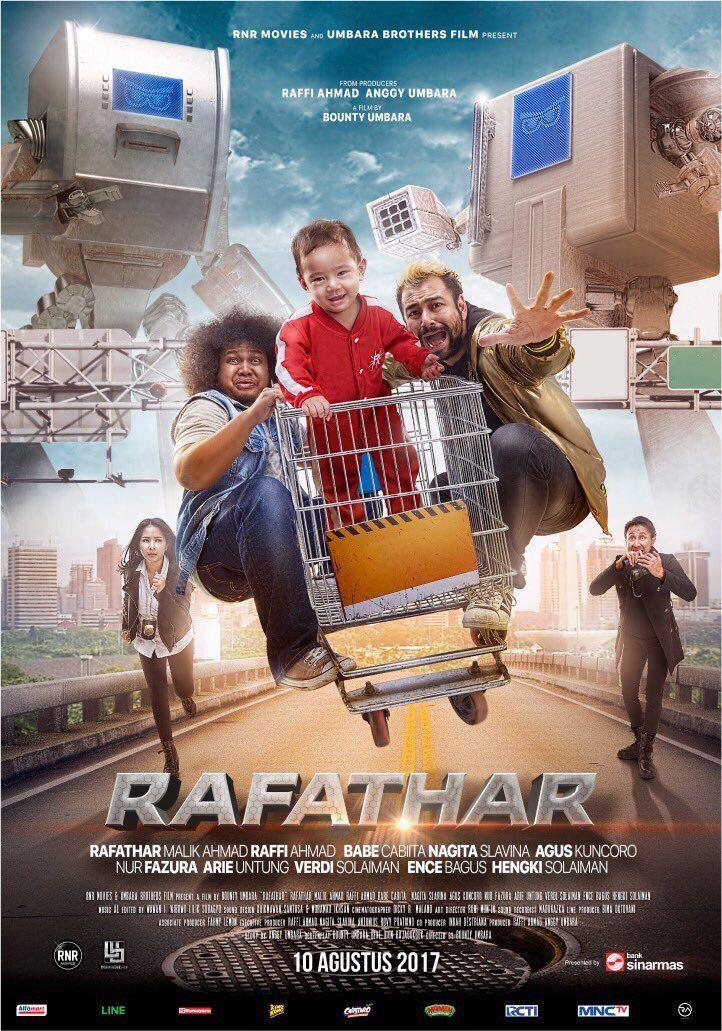 Rafathar Bioskop, Film aksi, Film