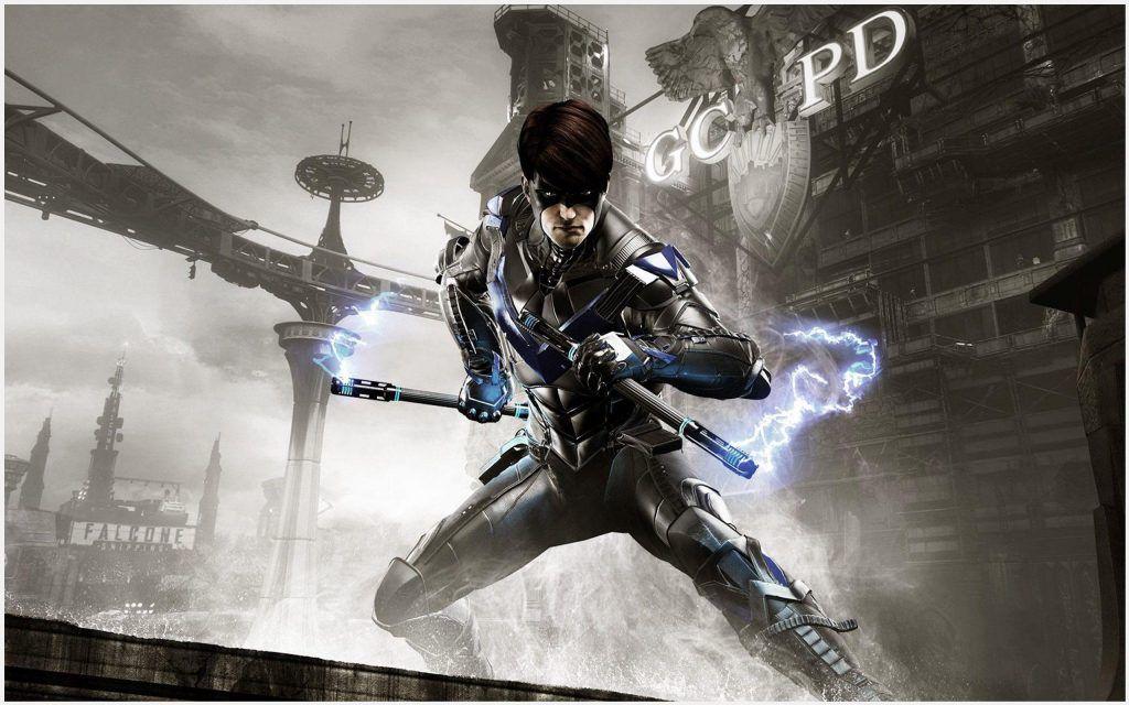 Batman Arkham Knight Nightwing Game Wallpaper