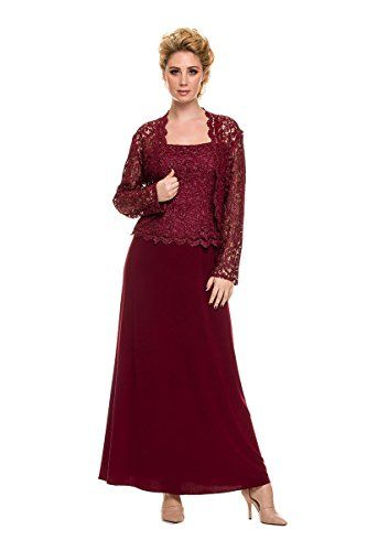 Mother of the Bride Formal Gown NX5106-BURGUNDY-2X NariaNNa http://www.amazon.com/dp/B00Y4Z357C/ref=cm_sw_r_pi_dp_LJ7rxb0YZ7NWT