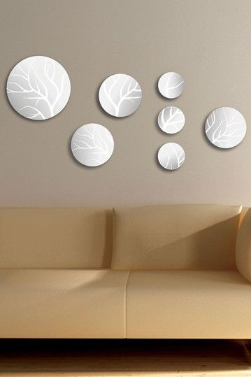 Zoe Art Mirrors 7 Piece Set By Functional Wall Decor By Nexxt On Hautelook Home Decorating Organizing Ideas Mirror Sets Wall Decor Mirror Set Mirror P