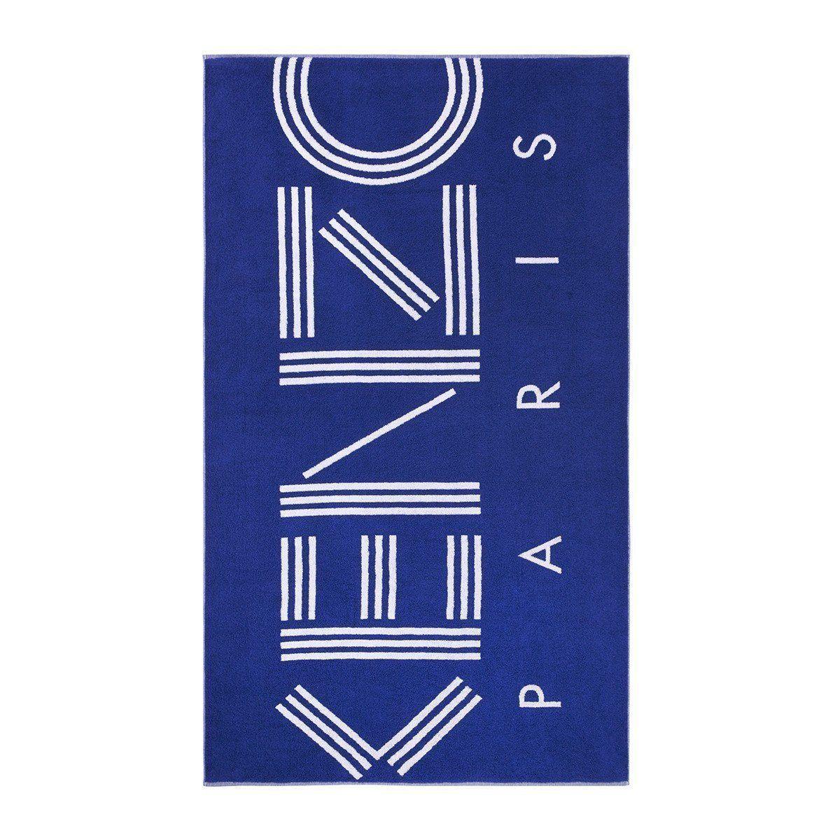 Sport Beach Towel by Kenzo   sport towel display #instagood #photo #figlinenswestport #picoftheday #Figlinensandhome #interiors #homedecor #luxurylinens #boutiqueshopping #boutique