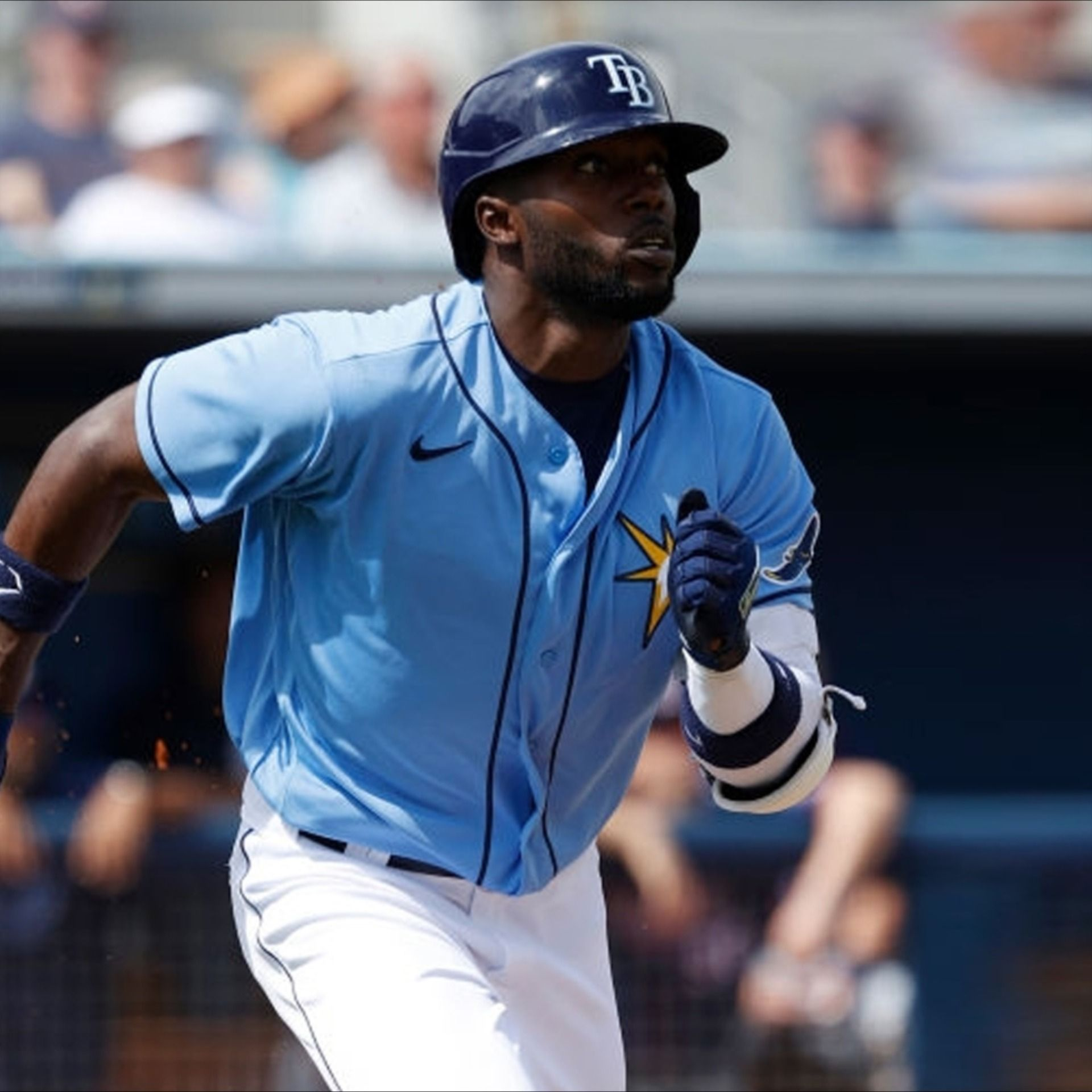 randy arozarena outfielder tampa bay rays in 2020 tampa bay rays tampa bay the outfield randy arozarena outfielder tampa bay