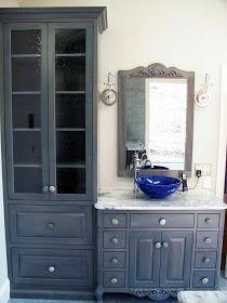 Master Bathroom   Built In Towel Warming Drawer