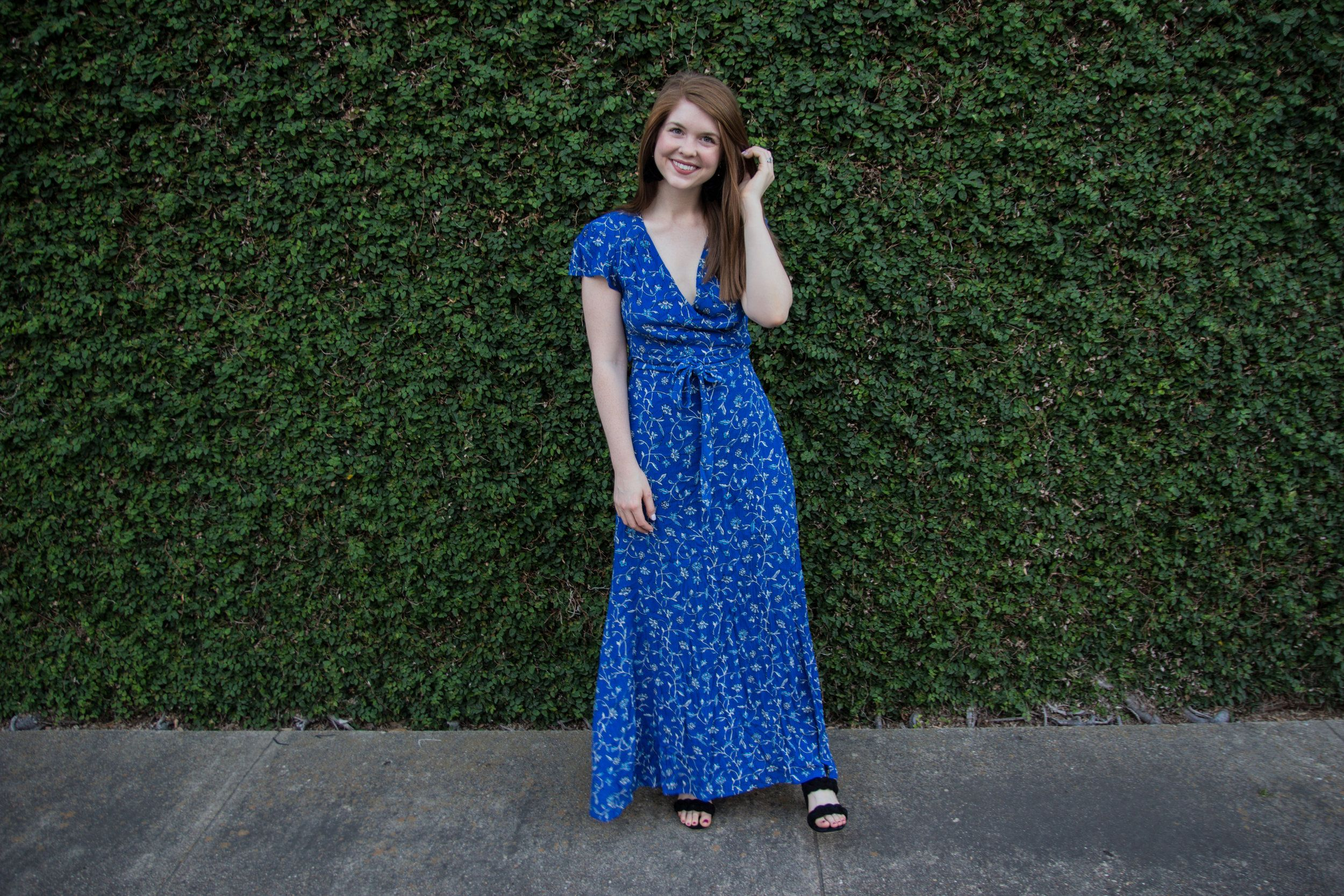 aa65a57cc4 amuse society summer safari dress in blue coast