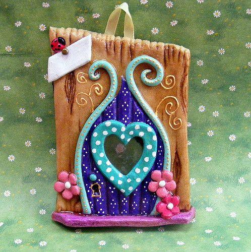 Heart Fairy Door fd09