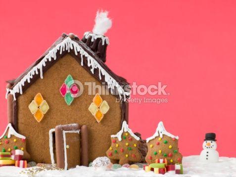 Gingerbread House : Foto de stock
