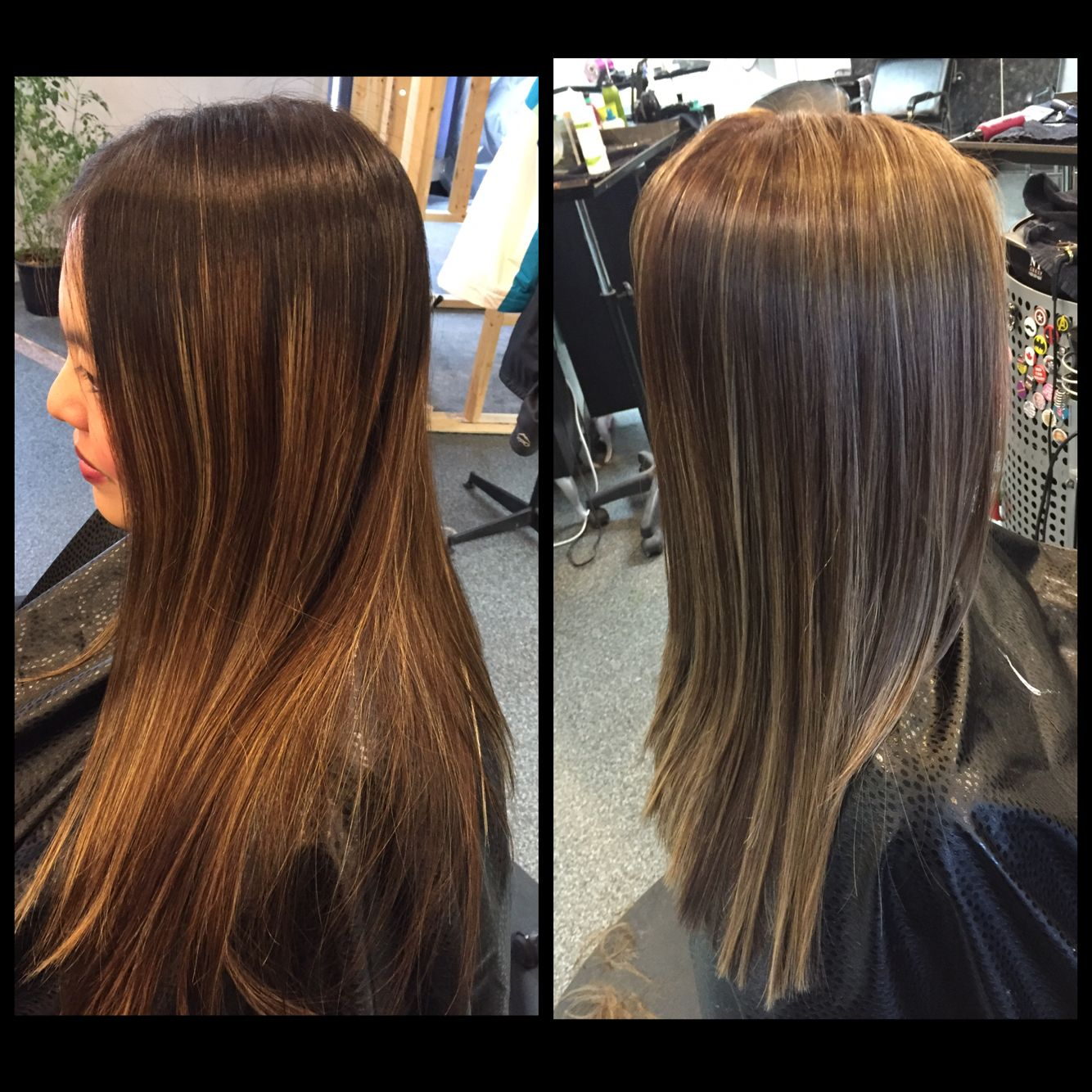 Before and after 3 4 inch root touch up she has lots of fine inch root touch up she has lots of fine highlights pmusecretfo Gallery