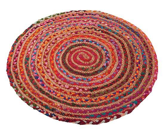 tapis rond multicolore 150 tricot pinterest tapis rond tapis et id es sympas. Black Bedroom Furniture Sets. Home Design Ideas