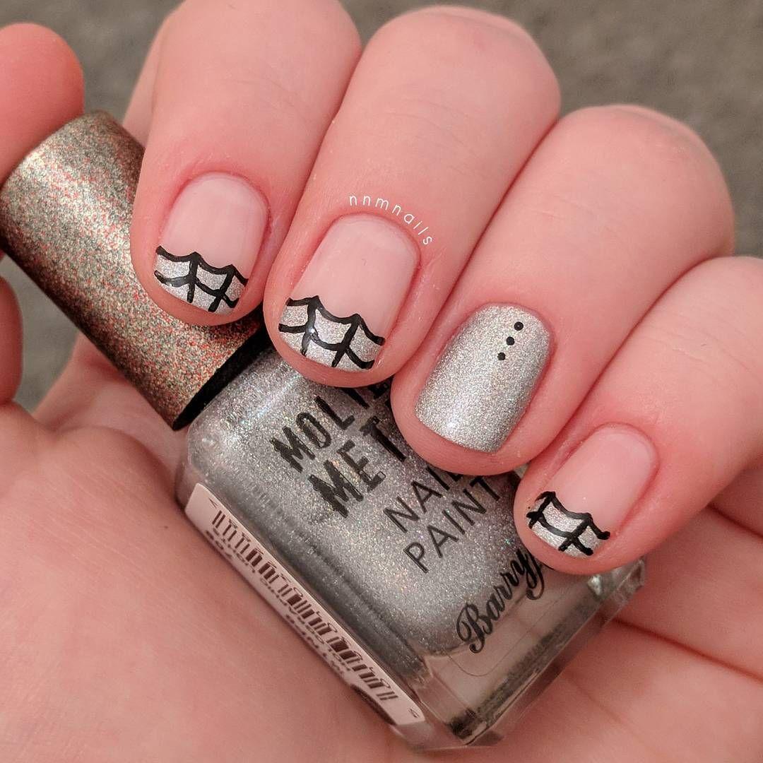 @nnmnails on Instagram: halloween holoween holo manicure ...