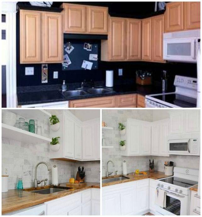 Kis konyha felújítása – 5 pici konyha felújítás előtt és után ...