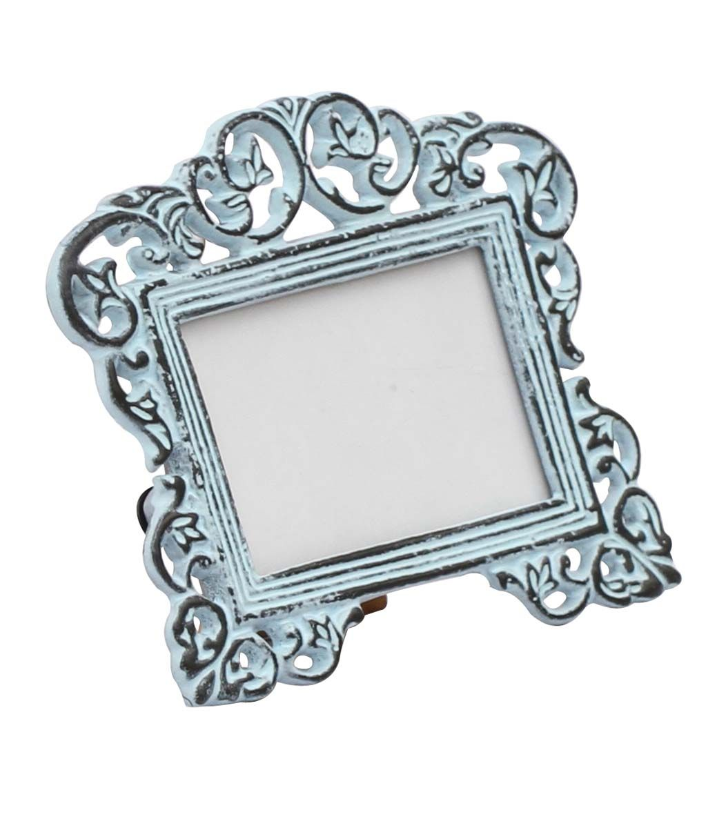 Bulk Wholesale Handmade Metal Photo Frame in Sky Blue Color with ...