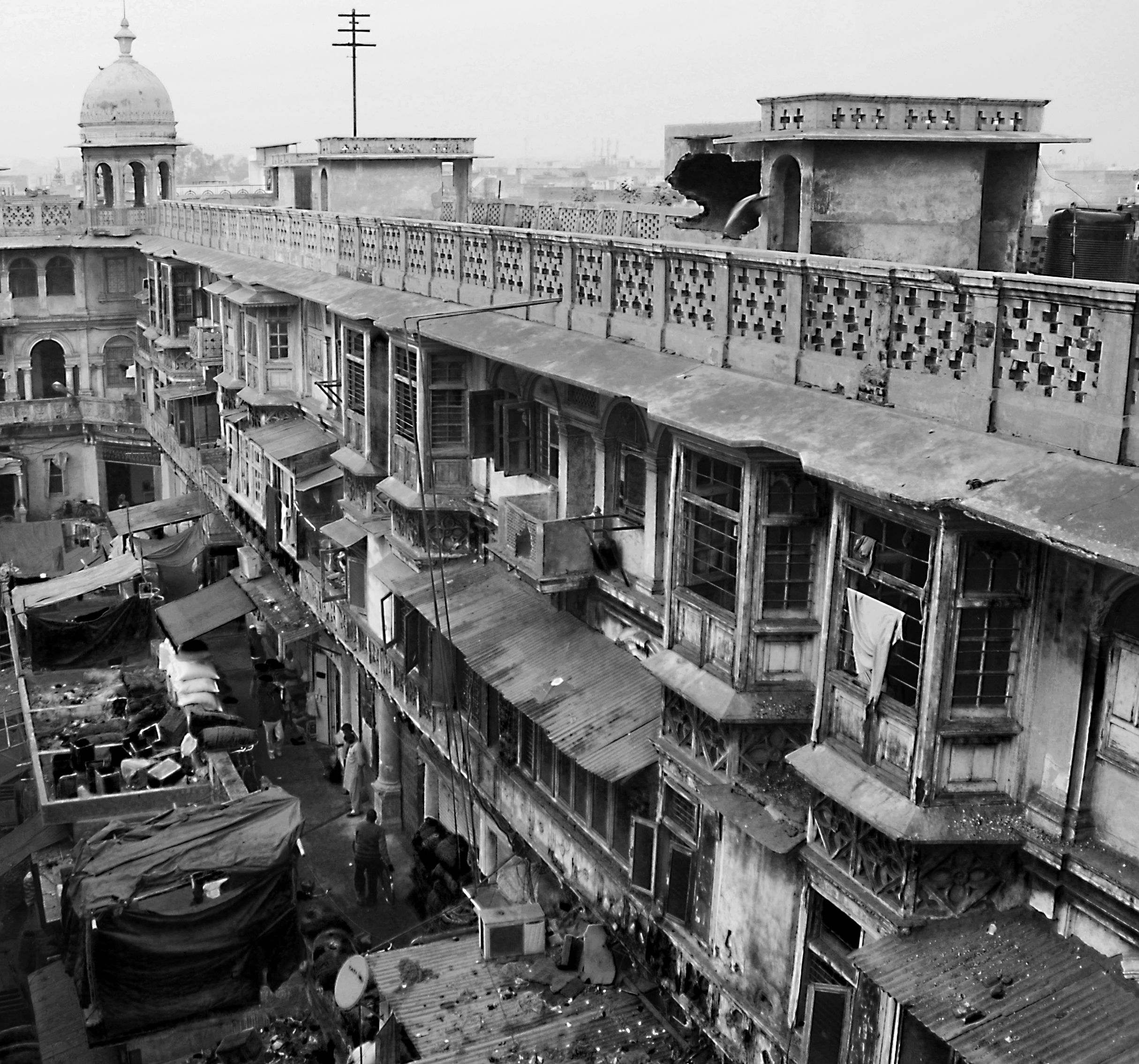 Spice Market In Old Delhi India Travel Photography Photo Black White Photos