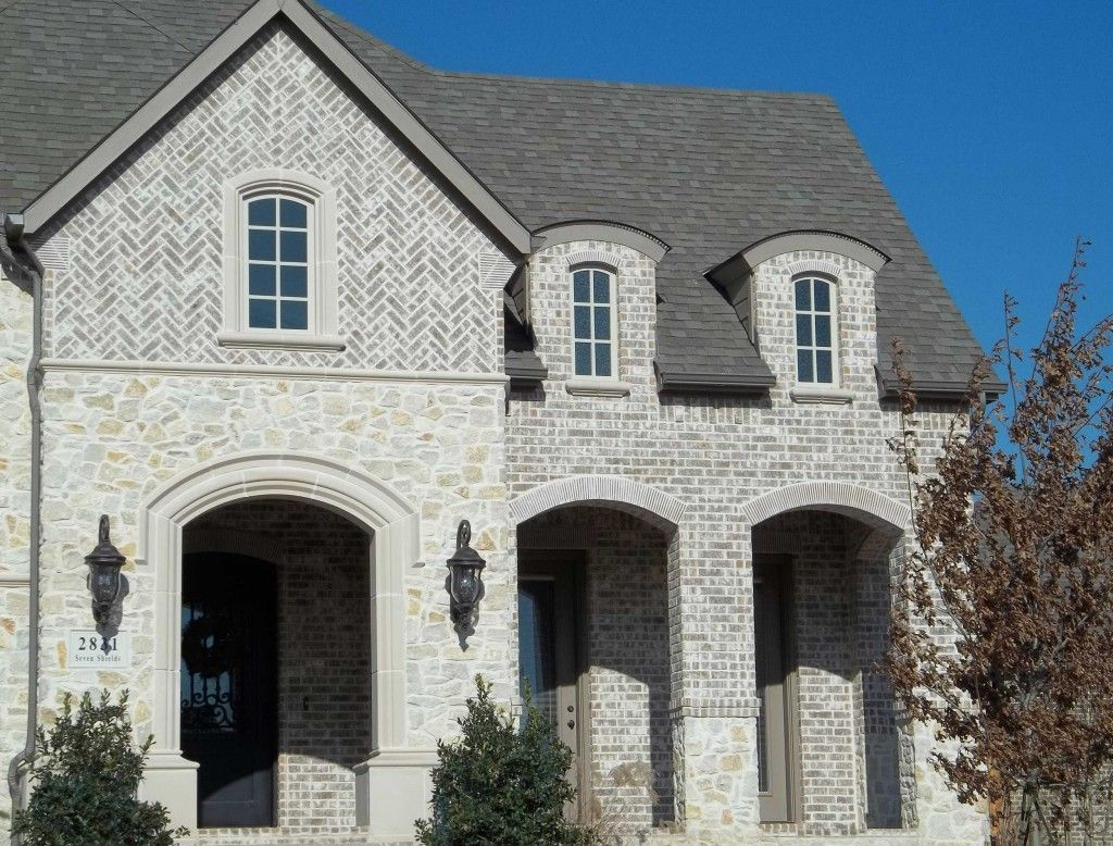 Cbc grey yukon ks for the home pinterest king size for French country brick exterior