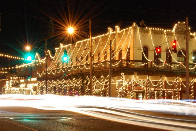 Christmas Lights Downtown Ponchatoula La Great Places Christmas Lights Places Ive Been