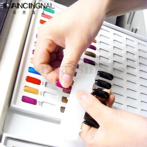 ac946c711a 120-216-Nail-Tip-Colour-Chart-White-Display-Book-For-UV-LED-Gel-Polish -Design