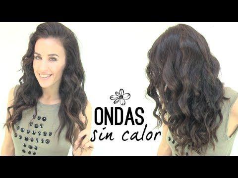 Ondas Sin Planchas Rizos Perfectos Youtube Belleza