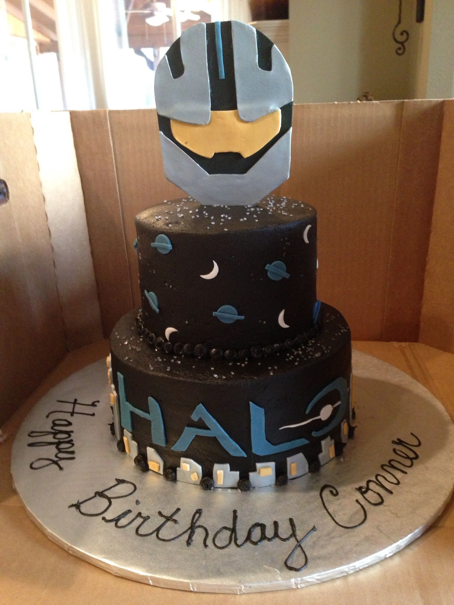 Halo So whos making me this for my birthday Lol trists bday