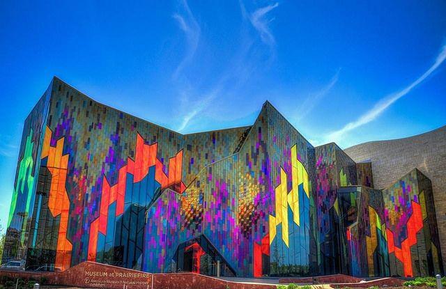 The New Museum At Prairiefire Taken Yesterday Overland Park Kansas Overland Park Kansas Missouri