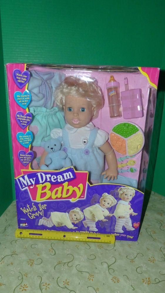 Mga 18 Talking Interactive My Dream Baby Doll W Accessories 2000