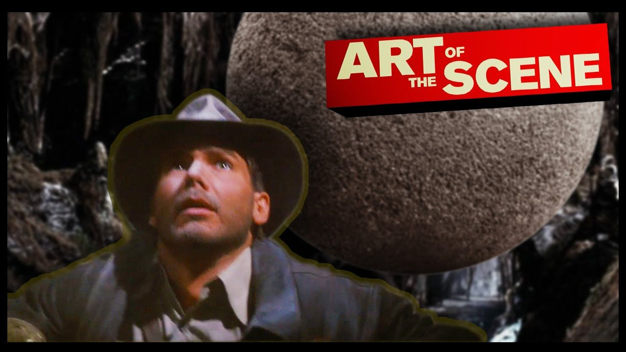 Raiders of The Lost Ark\'s Boulder - Art of the Scene | anatomy of a ...