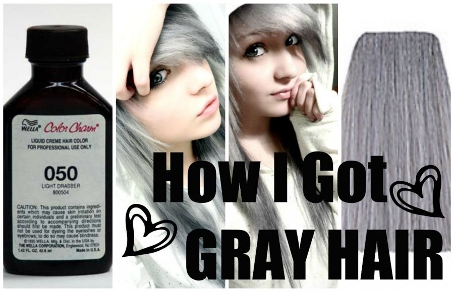 Silver Grey Hair Dye Color Best Way To Color Your Hair At Home
