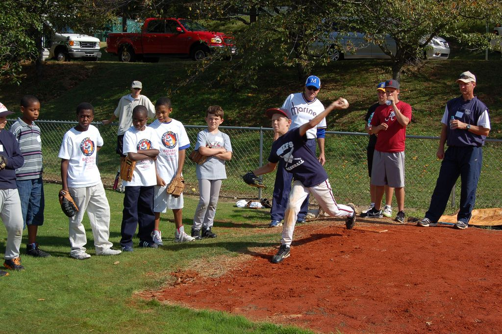2011 Legends Clinic -- pitching