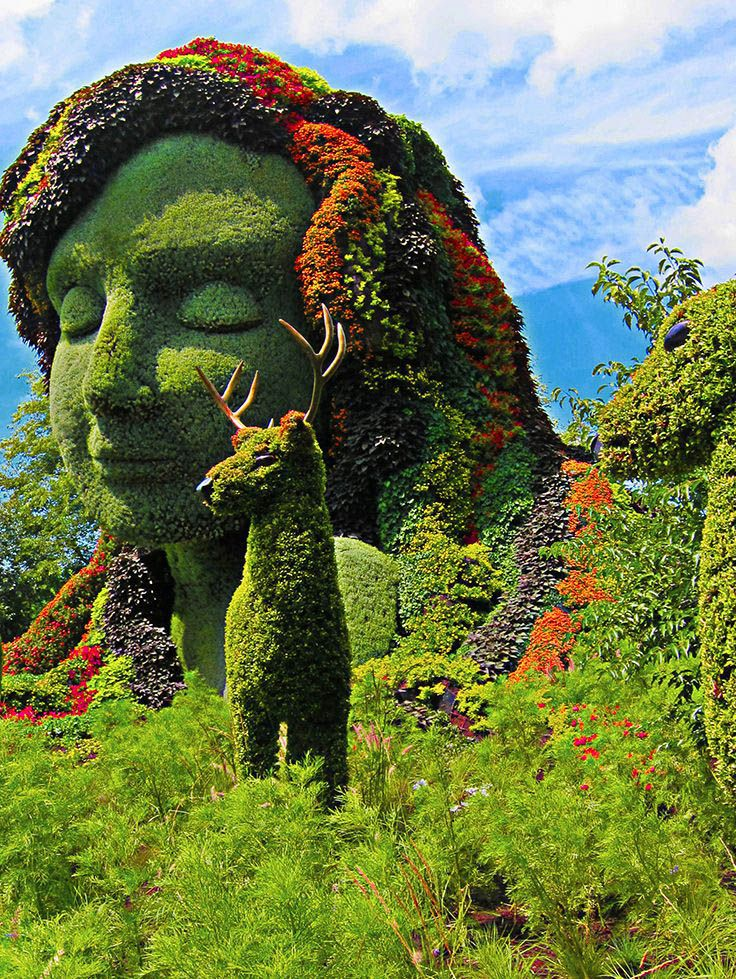 10 Ideas to Steal from Botanical Gardens Around the World is part of Montreal botanical garden, Garden, Topiary garden, Miracle garden, Garden trains, Botanical gardens - Botanic gardens exist to teach folks concerning plants  exactly how to pinpoint, feature, and utilize all of them for medical objectives  as well as horticulturalists and chroniclers re…