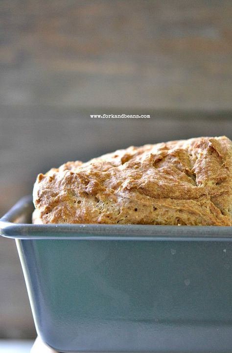 Gluten-Free Vegan Bread...mix with raisins for added sweetness and use half bean flour and sorghum flour.  Awesome!