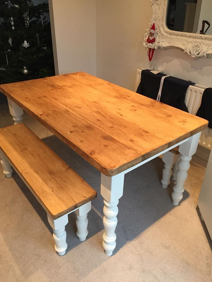 Astonishing Details About Farmhouse Rustic Country Kitchen Dining Table Gmtry Best Dining Table And Chair Ideas Images Gmtryco