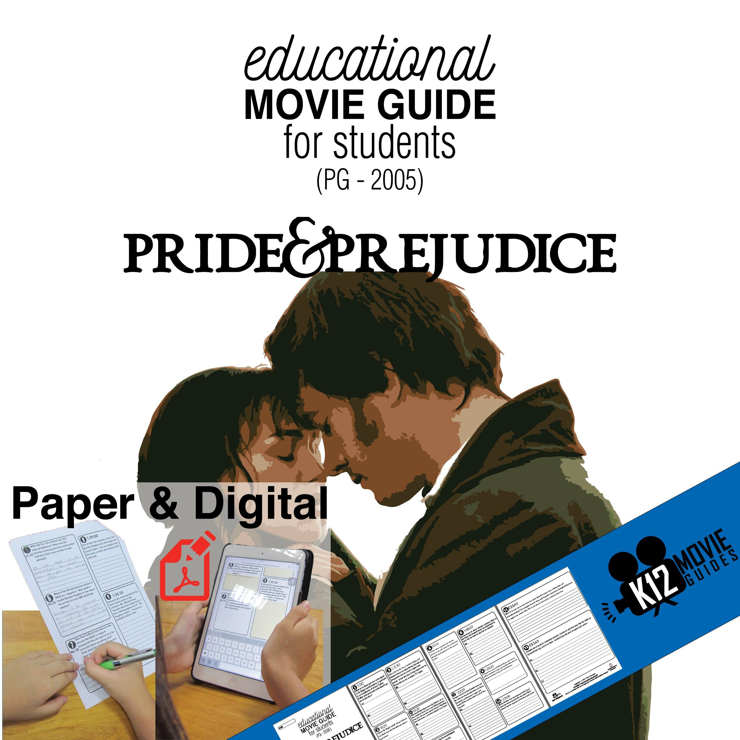 Pride And Prejudice Movie Guide Cover With Images