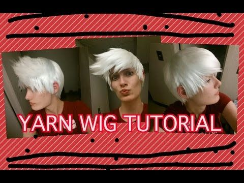 Yarn Wig Tutorial In Depth Yarn Wig Cosplay Diy Wigs